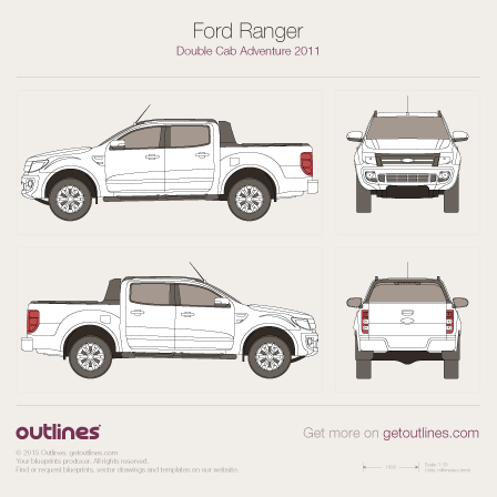 Ford Ranger drawings