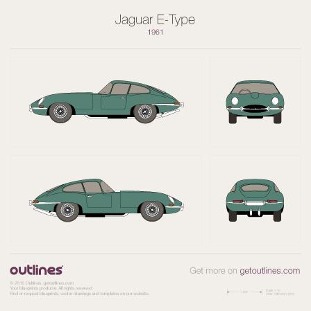 jaguar car drawing - photo #33