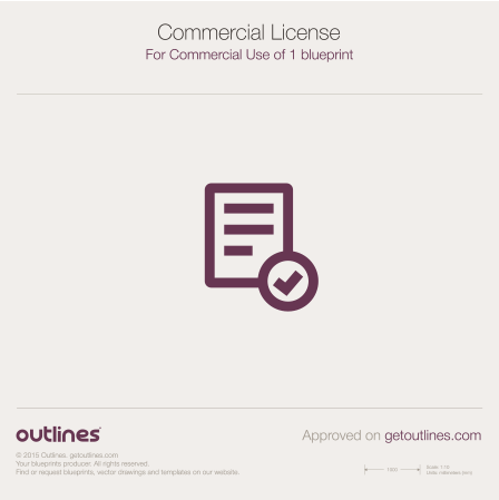 License Commercial drawings