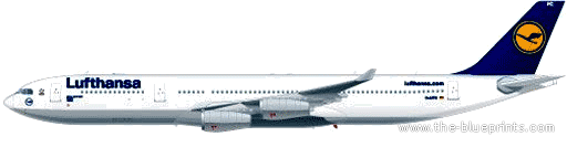 Airbus A340-300 blueprints