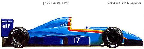 AGS JH27 F1 blueprints