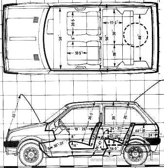 2011 Ford Fiesta Door