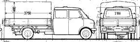 Bedford Blitz blueprints