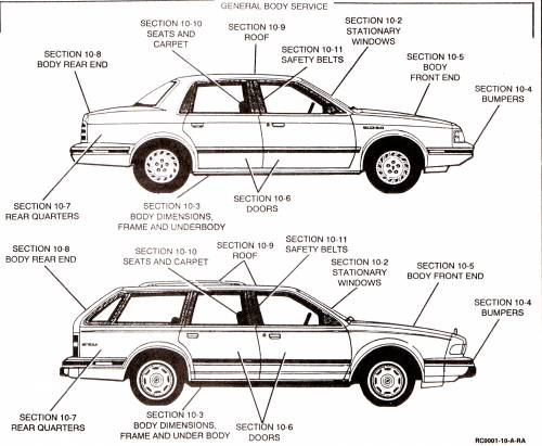 Buick Century blueprints