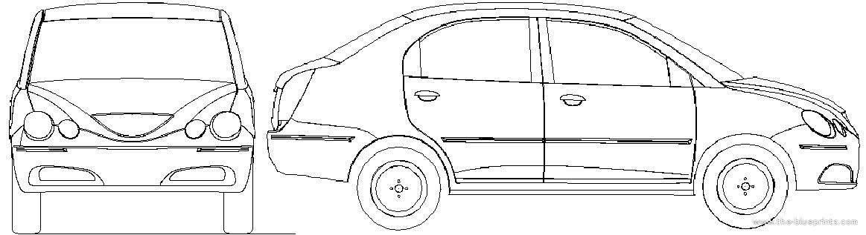 Chery QQ6 blueprints