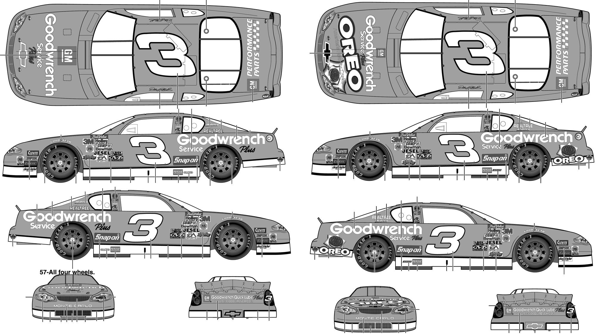 Colorful Blueprints For Cars Pattern - Wiring Diagram Ideas ...