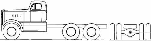 Diamond Reo T-951 blueprints