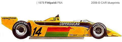 Fittipaldi F6A F1 blueprints