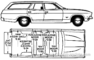 Ford Falcon XB Estate (Australia) blueprints