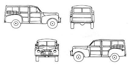 1941 ford c11 adf suv blueprints free