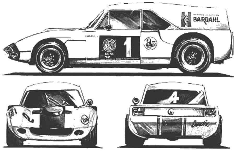 1968 ika torino liebre mk 2 coupe blueprints free