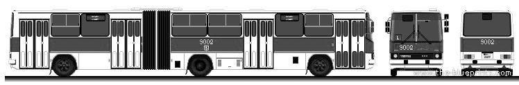 Ikarus 280.26 blueprints