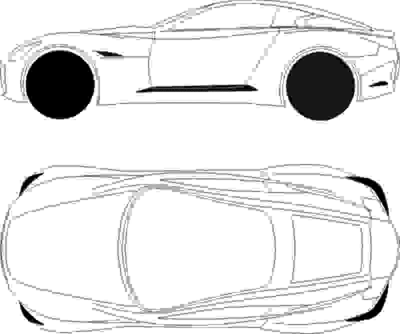 Infiniti Essence blueprints