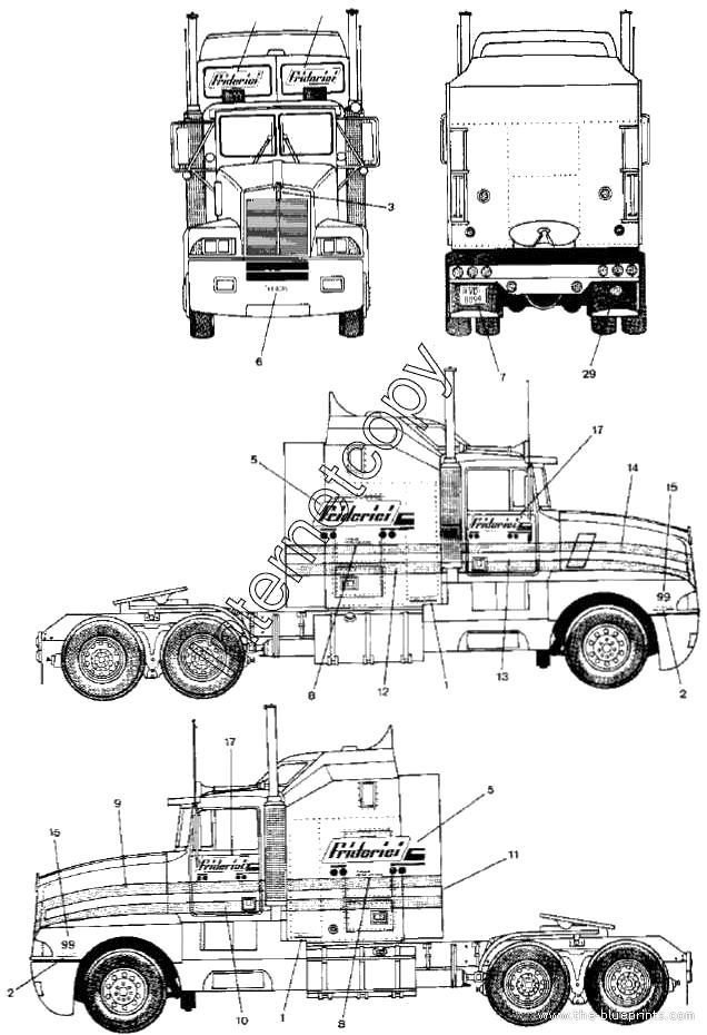 Kenworth Engine Diagram