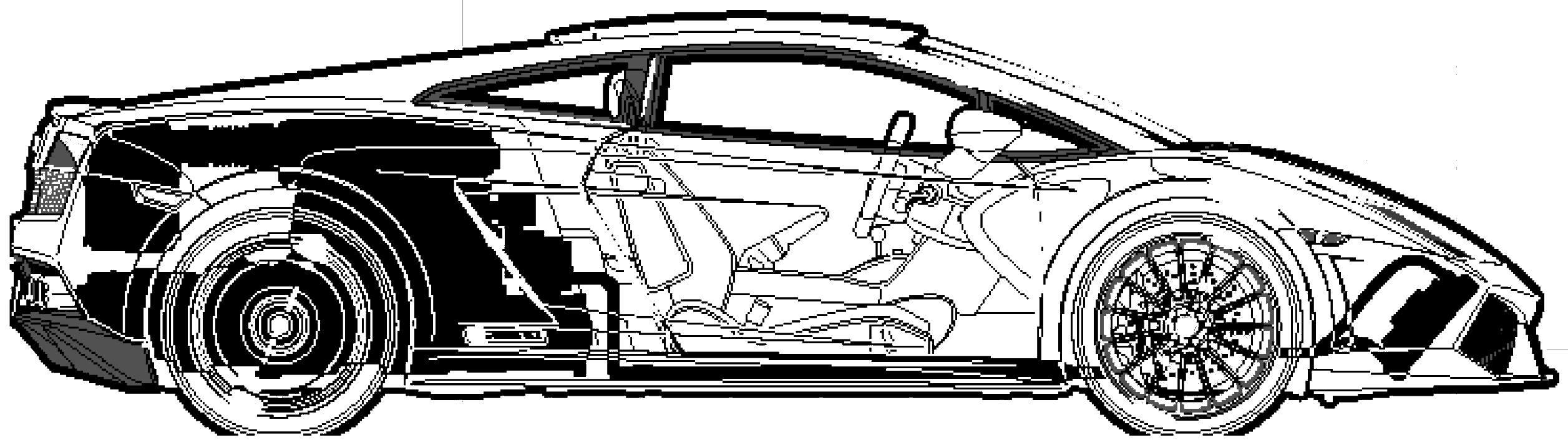 Lamborghini Gallardo LP550-2 Valentino Balboni blueprints