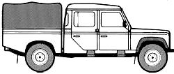 Land Rover 130 blueprints