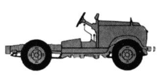 Land Rover 88 S2 Chassis blueprints