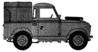 Land Rover 88 S2 Tent blueprints