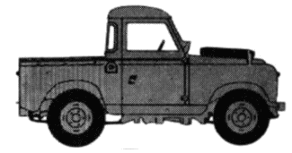 Land Rover 88 S2 blueprints