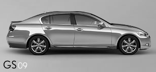 Lexus GS blueprints