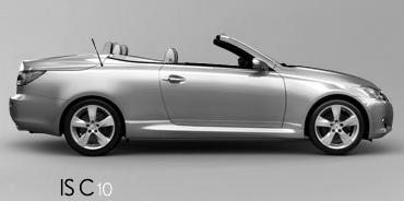Lexus IS C blueprints