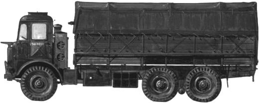 Leyland Motors Hippo Mark II blueprints