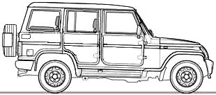 Mahindra Bolero Fuel Smart blueprints