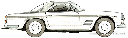 Maserati 2500GT blueprints