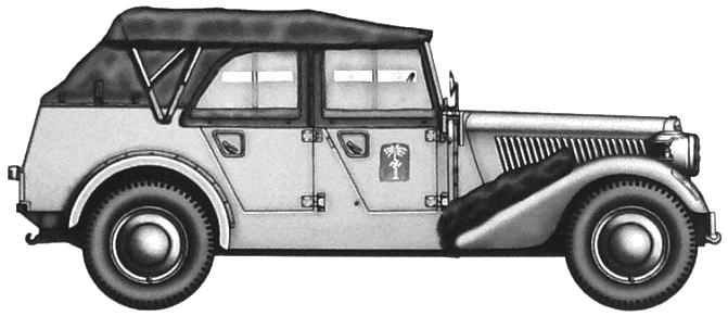 Mercedes-Benz 170VK Pkw Pfz2 blueprints