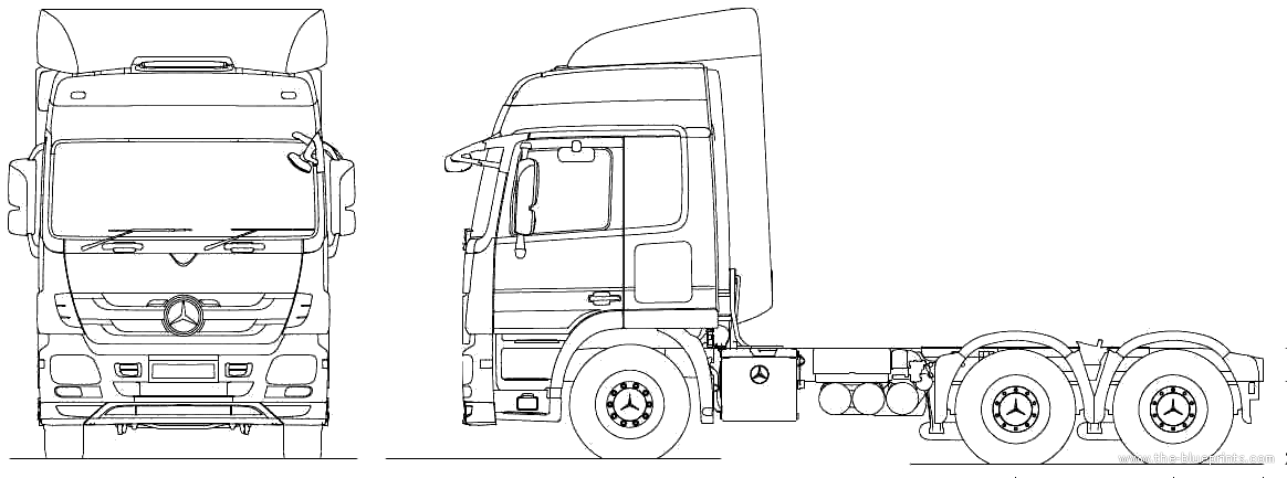 2010 mercedes benz actros 6x4 tractor heavy truck. Black Bedroom Furniture Sets. Home Design Ideas