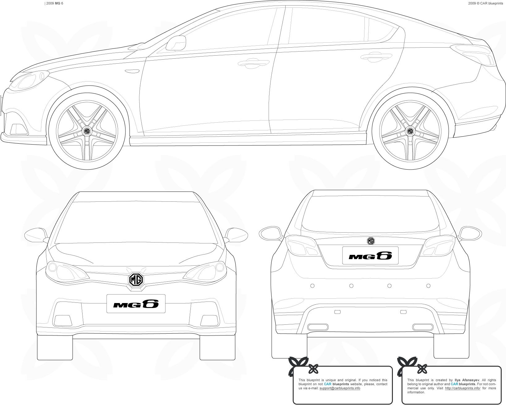 MG 6 blueprints