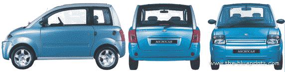 Microcar MC1 blueprints