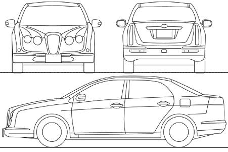 Mitsuoka Nouera blueprints