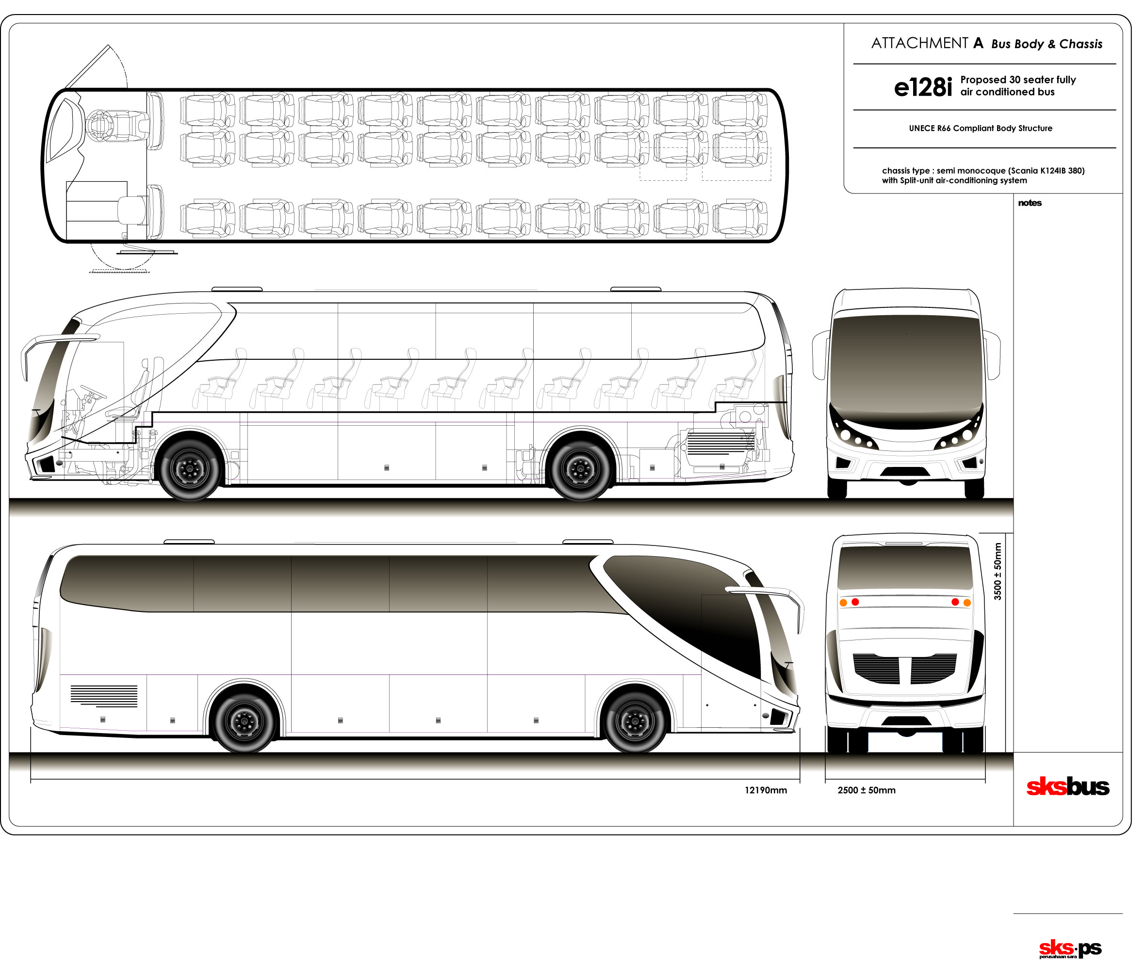 Other e128i bus blueprints free outlines other e128i blueprints malvernweather Gallery