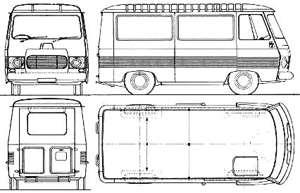 peugeot j7 van blueprints free outlines. Black Bedroom Furniture Sets. Home Design Ideas
