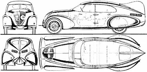 Peugeot 402 N4X blueprints