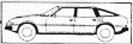 Rover 3500 blueprints