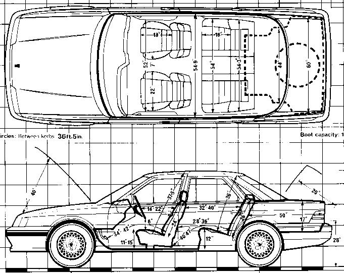 Rover Sterling blueprints