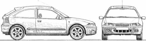 Rover 200 BRM blueprints