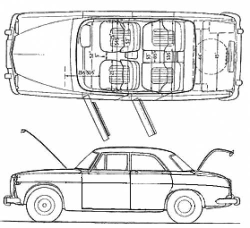 Rover P5 3.5 V8 blueprints