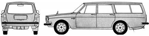 Volvo 145 blueprints