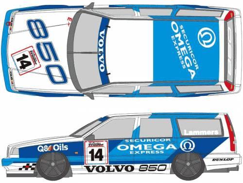 Volvo 850 Estate blueprints