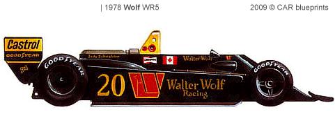 Wolf WR5 F1 blueprints