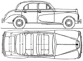 Wolseley 6/80 blueprints