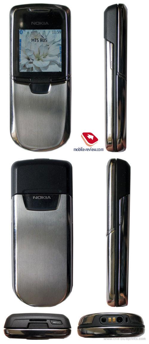 Nokia 8800 blueprints