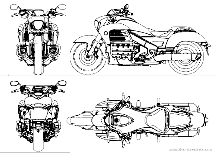 2014 honda f6c blueprints free