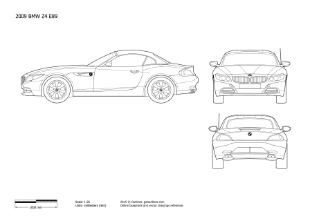 BMW Z4 drawings