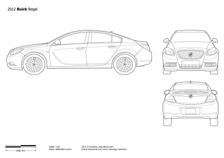 Buick Regal drawings