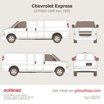 Chevrolet Express blueprint