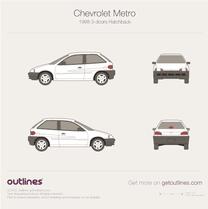 Chevrolet Metro blueprint
